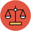 balance scale, justice scale, law, legal, libra icon