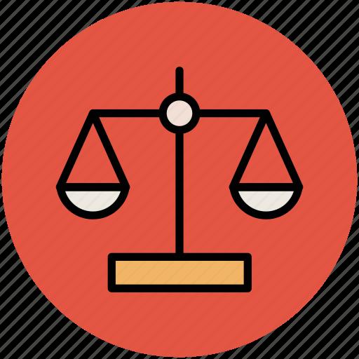 balance scale, justice scale, law, legal, libra icon