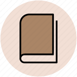book, education, learning, study, study book icon