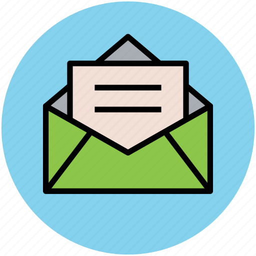 envelope, inbox, letter, mail, postal mail icon