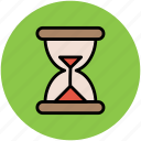 egg timer, hourglass, sand timer, sand watch icon
