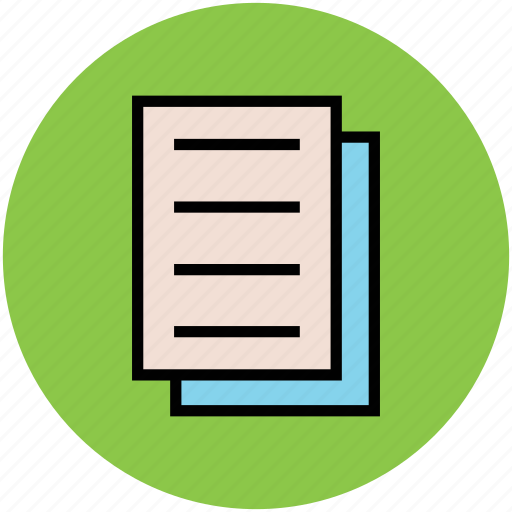document, paper, text documents, text sheet, write, writing paper icon