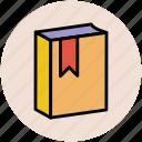 album, book, bookmark, catalog, education, learning, reading icon