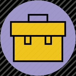 bag, books bag, documents bag, portfolio, school bag icon
