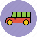 autobus, coach, school van, transport, transportation, van, vehicle icon