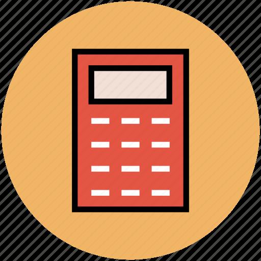 accounting, calculating machine, calculation, calculator, digital calculator, maths icon