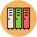 archives, binders, file folders, files, folders, office documents, record icon