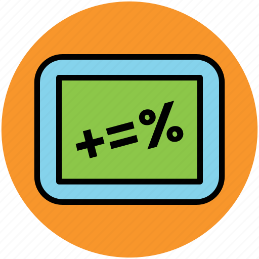 accounting, calculation, math symbol, mathematics, maths icon