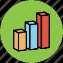 analysis, bar chart, bar graph, chart, graph, stats icon
