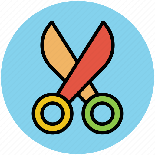 craft, cutting, cutting tool, scissor, shears, snip, trimming icon