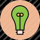 bulb, bulb on, electric light, electricity, light, light bulb icon