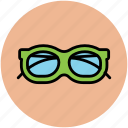 eyeglasses, eyewear, shades, specs, spectacles, sunglasses icon