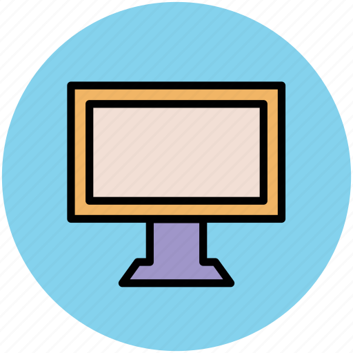 lcd, lcd screen, led, monitor, television, tv screen icon