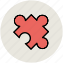 creativity, jigsaw, jigsaw piece, plugin, puzzle piece icon