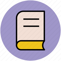 book, education, knowledge, novel, study icon