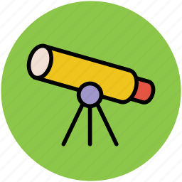 astronomy, planetarium, search, spyglass, telescope, vision icon