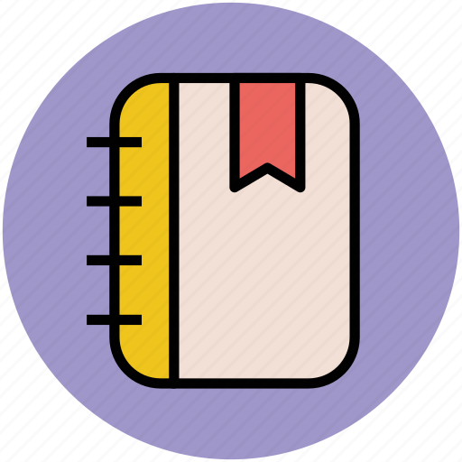 jotter, log pad, notebook, notepad, steno pad, writing pad icon