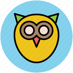 bird, education, knowledge, owl, study icon