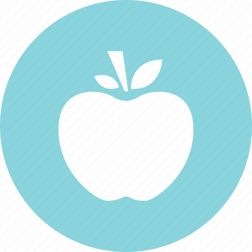 apple, eat, food, substitute, teach, teacher icon