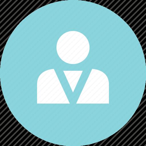boss, navigation, profile icon