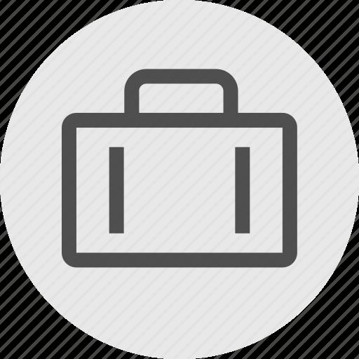 briefcase, case, pro, professional, staff, substitute, teacher icon