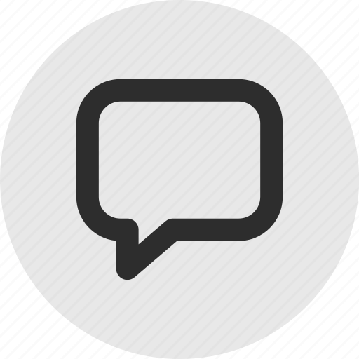 Bubble, chat, menu icon - Download on Iconfinder
