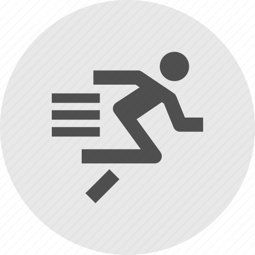 athletics, country, cross, event, fast, run, sprint icon