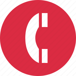 circle, connect, contact, dial, number, phone icon