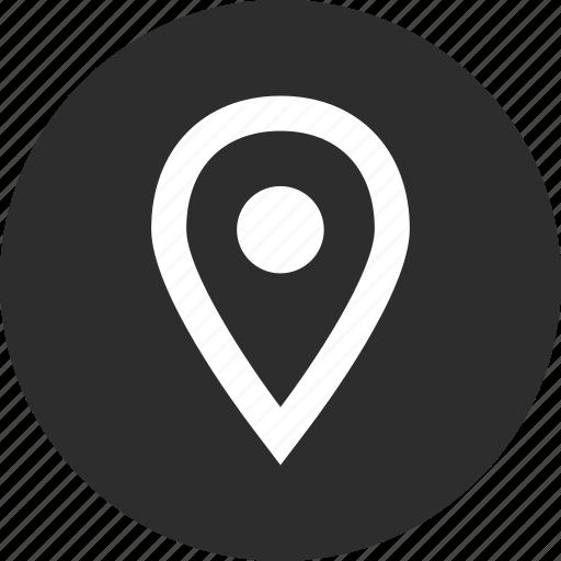 gps, menu, nav, pin icon