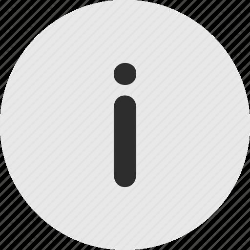 info, menu, more icon