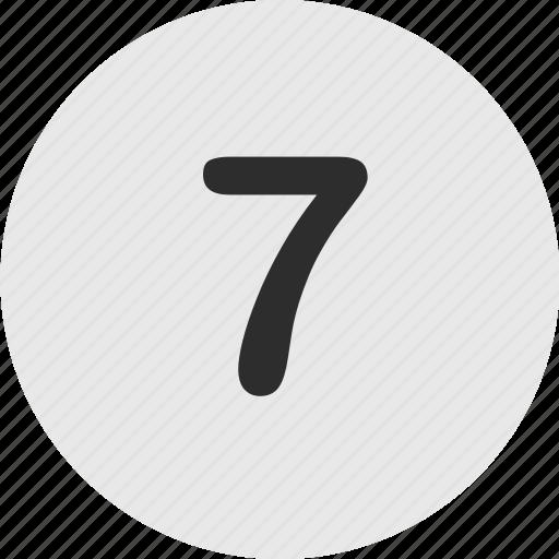 Number, online, seven icon - Download on Iconfinder