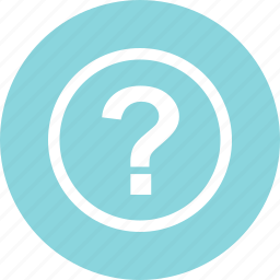 ask, circle, mark, online, question, sign icon