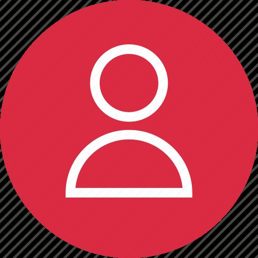 boss, circle, person, profile, staff, student, user icon
