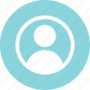 circle, person, profile, staff, student, user icon