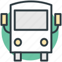 coach, school bus, school van, transportation, travel icon