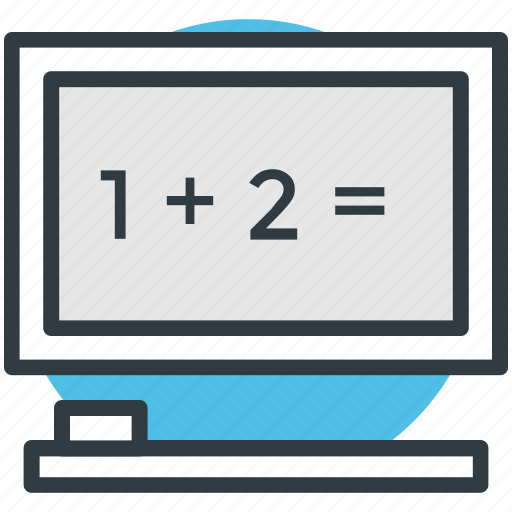 adding machine, calc, calculation, calculator, mathematics icon