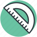 angle tool, degree tool, geometry, mathematics, protractor icon