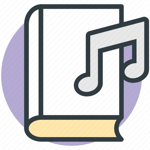 audio literature, audiobook, ebook, music book, videobook icon