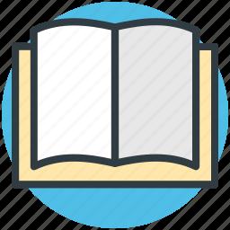 book, guide, literature, open book, schoolbook icon
