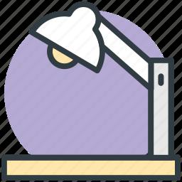 anglepoise, anglepoise lamp, arc lamp, desk light, lamp icon