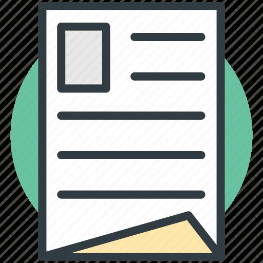 applicant, curriculum vitae, cv, qualifications, resume icon