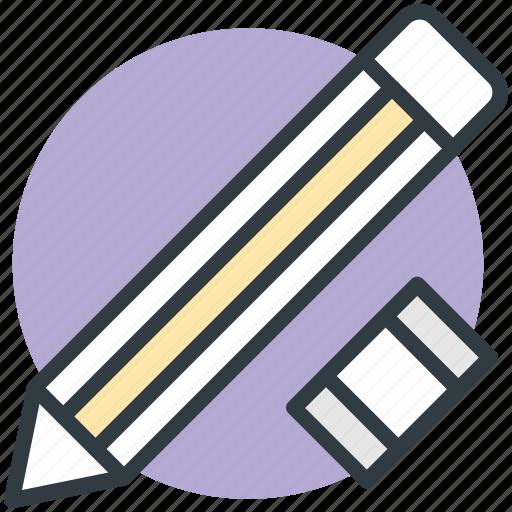 office supplies, pencil eraser, rubber, school supplies, stationery icon