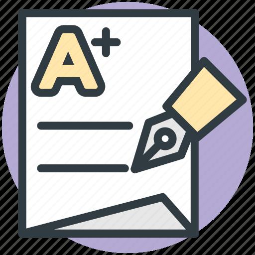 a mark, a plus, add file, page, sheet icon