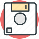 floppy, floppy disk, floppy drive, hardware, memory disk icon