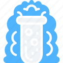dark mode, education, experiments, explosions, science, testing icon
