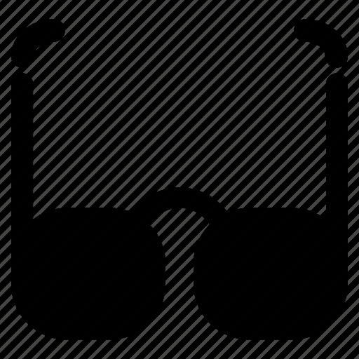 eyeglasses, glasses, sight, smart icon