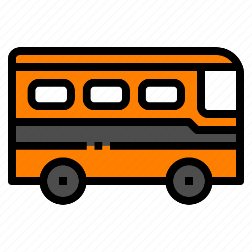bus, school, transport, truck, vehicle icon