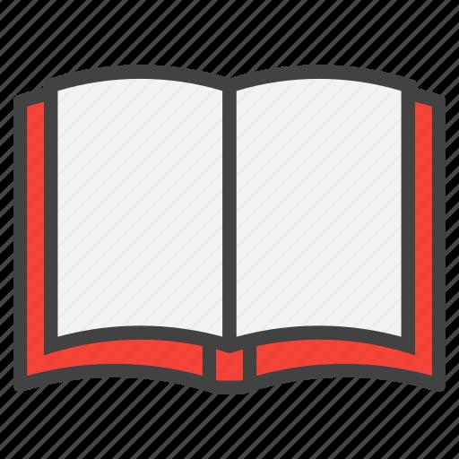 book, education, open, read, reading, school, study icon