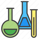 chemical, chemistry, education, experiment, flask, school, science icon