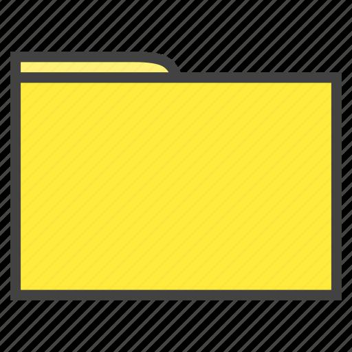 archive, document, education, folder, portfolio, save, school icon